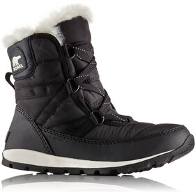Sorel W's Whitney Short Lace Boots Black